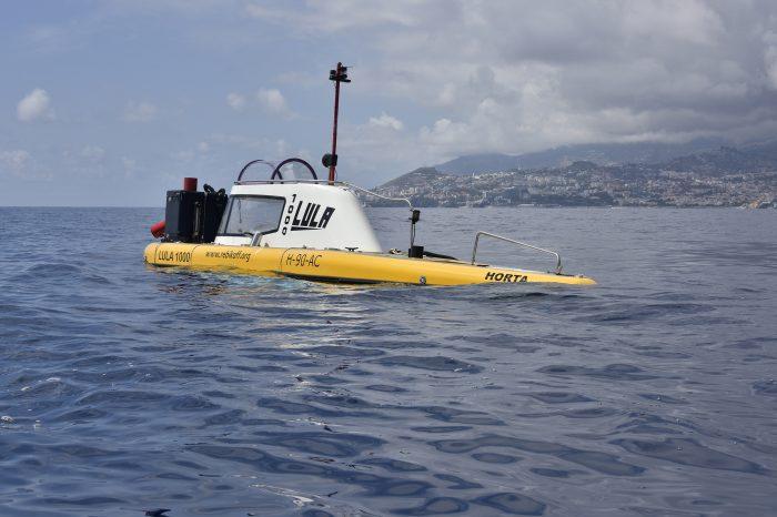 LULA1000 no mar da Madeira